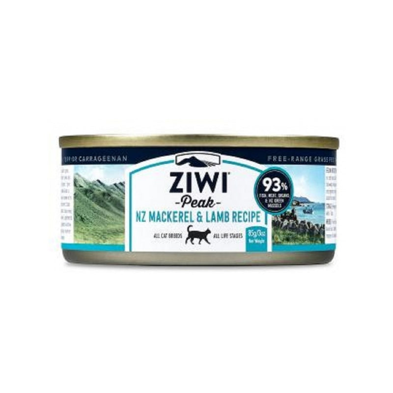 Feline Moist Mackerel & Lamb Can, 85g