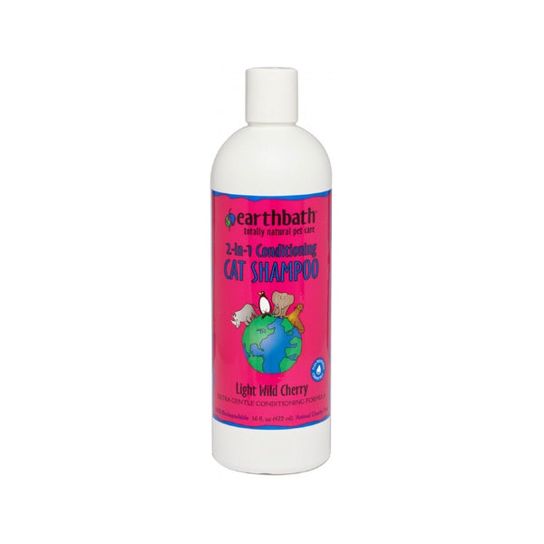 2-in-1 Conditioning Cat Shampoo, 16oz