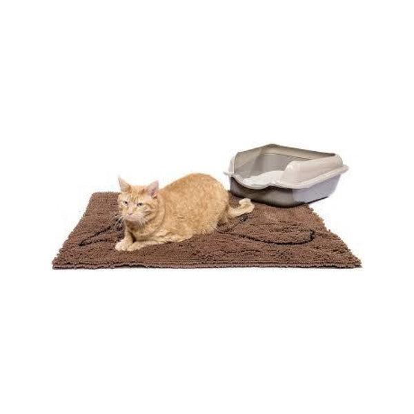 "Cat Litter Mat, Color Grey, 35""x26"""