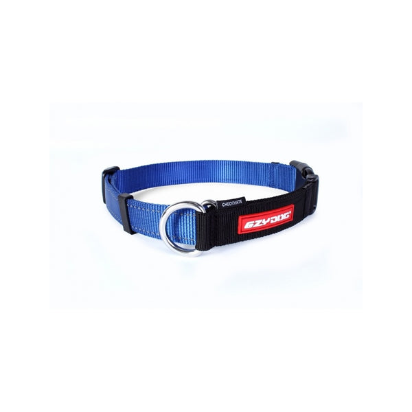 Checkmate Training Collar, Color Blue, Medium
