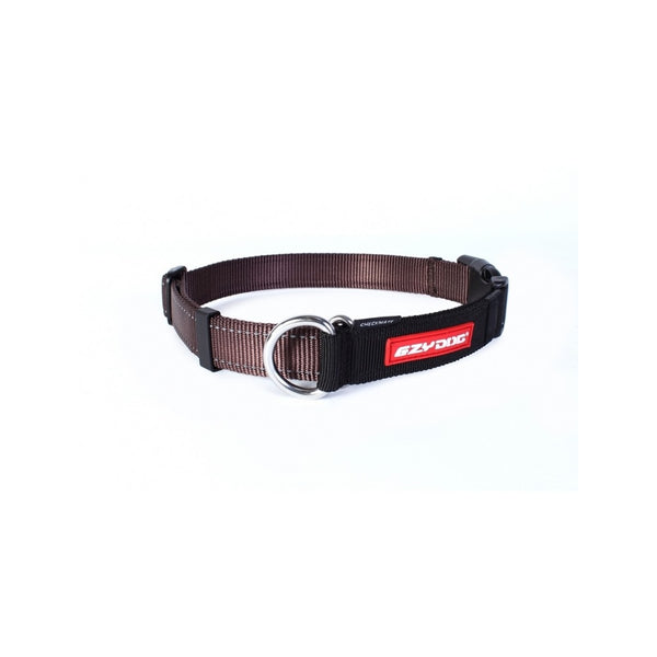 Checkmate Training Collar, Color Chocolate, Medium