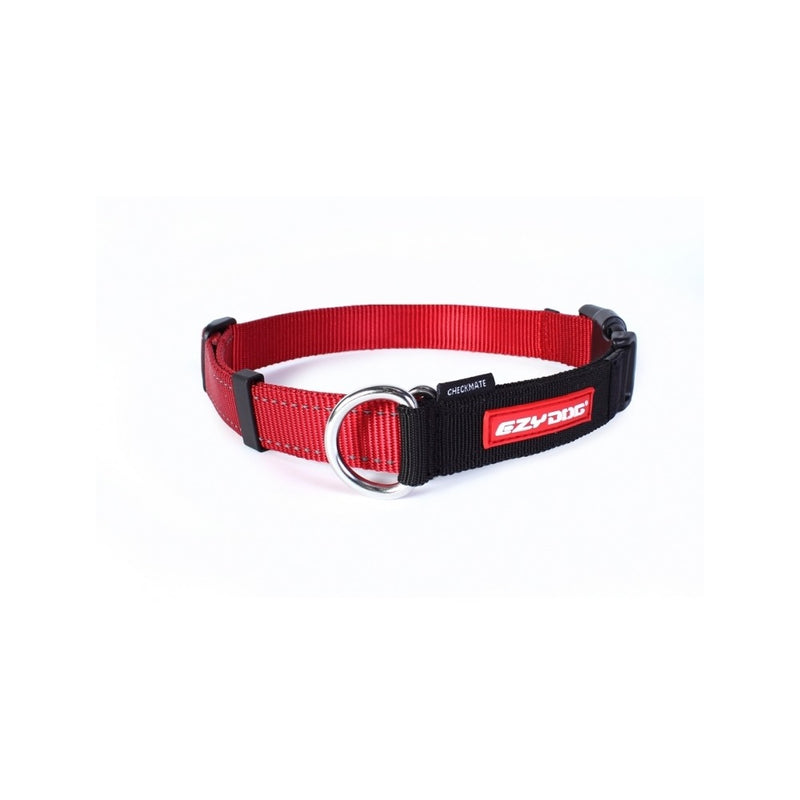 Checkmate Training Collar, Color Red, Large