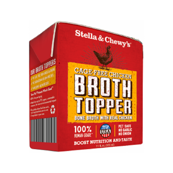 Chicken Broth Topper Weight : 11oz