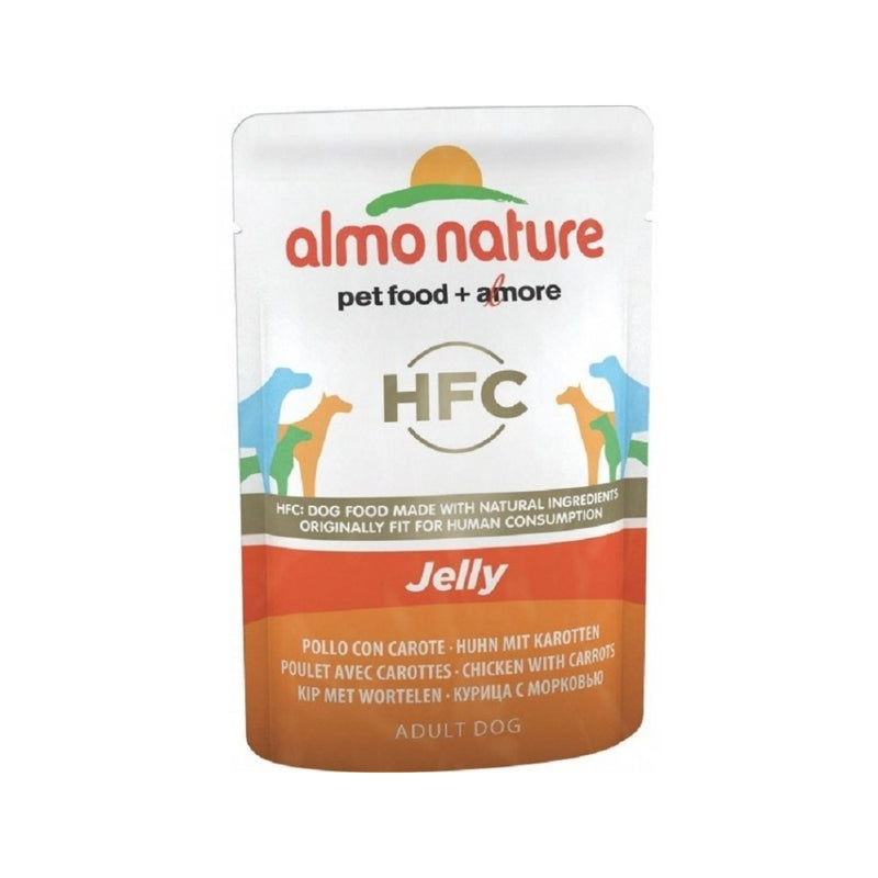Chicken & Carrot Jelly Pouch for Dogs, 70g