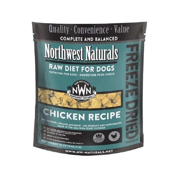 Freeze Dried Chicken Nuggets Weight : 12oz