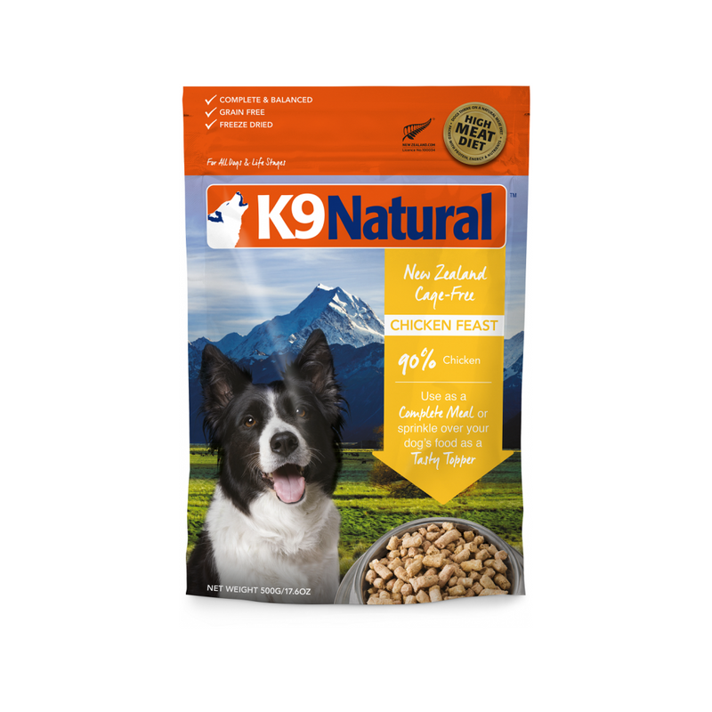 Chicken Feast Freeze Dried for Dogs, 500g