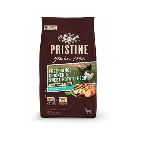 Pristine Raw Bites Free-Range Chicken Recipe, 18lb