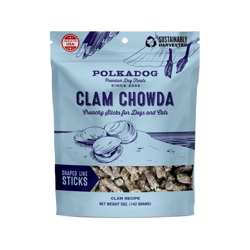 Clam Chowda Crunchy Sticks, 5oz