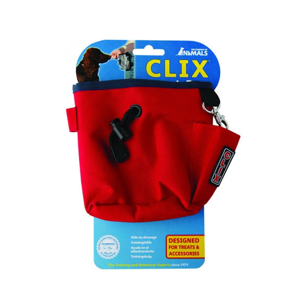 CLIX Treat Bag, Color: Red