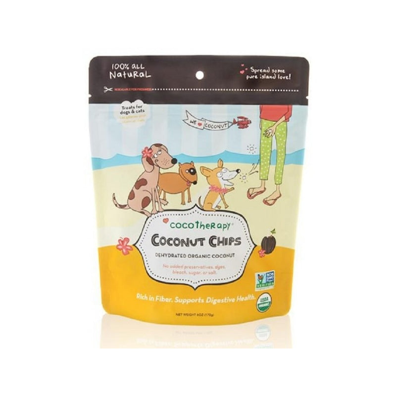 Organic Coconut Chips, 6oz