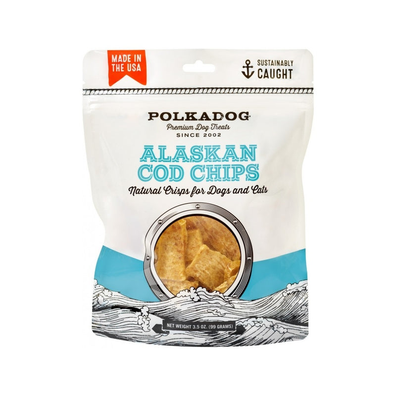 Alaskan Cod Chips Weight : 3.5oz