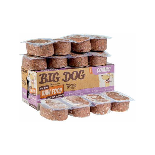 Standard Range for Dogs - Combo Raw Frozen Weight : 12x250g