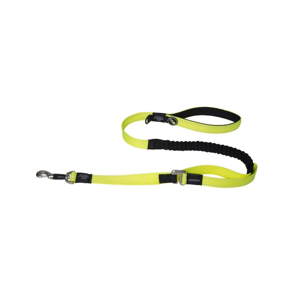 Control Lead, Color: Dayglow Yellow, Long XL, Length: 1.2m/4ft