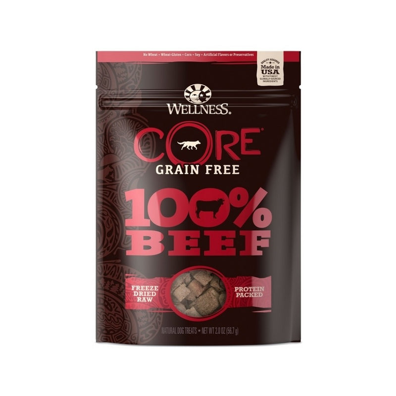 Core 100% F-Dried Beef Treats, 2oz
