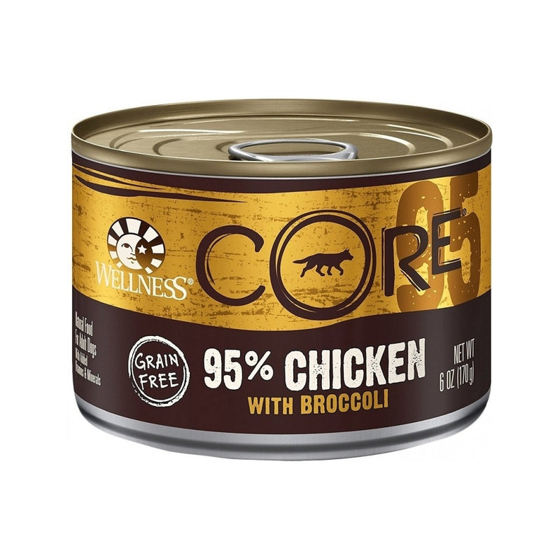 Core 95% Chicken With Broccoli Wet Dog Food, 6oz