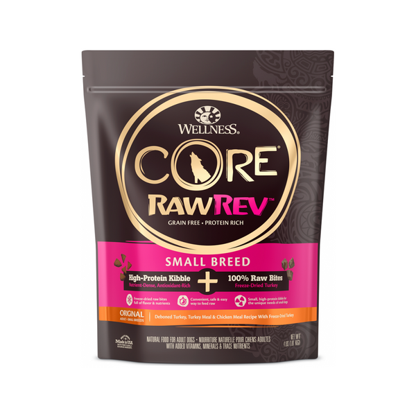 Core RawRev - Small Breed Weight : 4lb