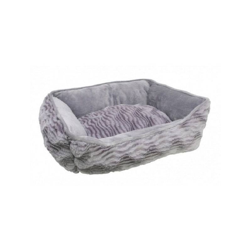 Rectangular Reversible Cuddle Bed, Color Grey, XSmall