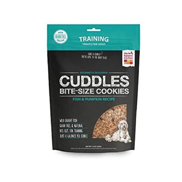 Cuddles, Fish & Pumpkin Cookies, 12oz
