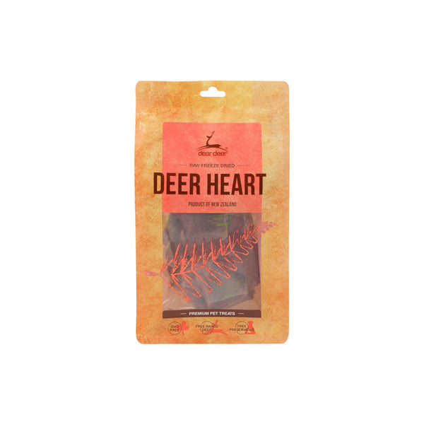 Deer Heart Treats for Dogs, 50g