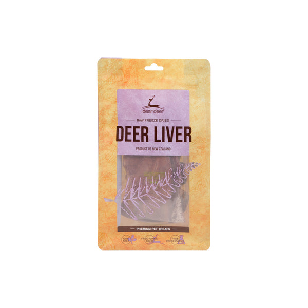 Deer Liver Treat for Dogs, 50g