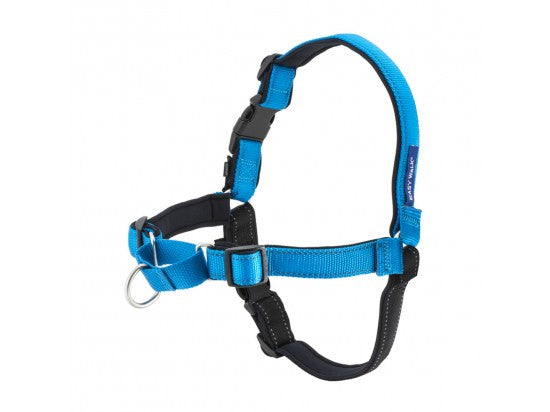 Deluxe Easy Walk Harness, Color Steel, Small