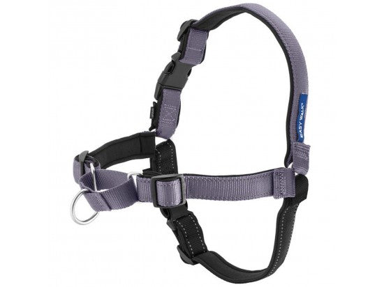 Deluxe Easy Walk Harness Color : Steel, Size : Large
