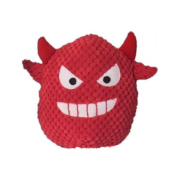 Devil Plush Ball Squeak Ball Size : 6""