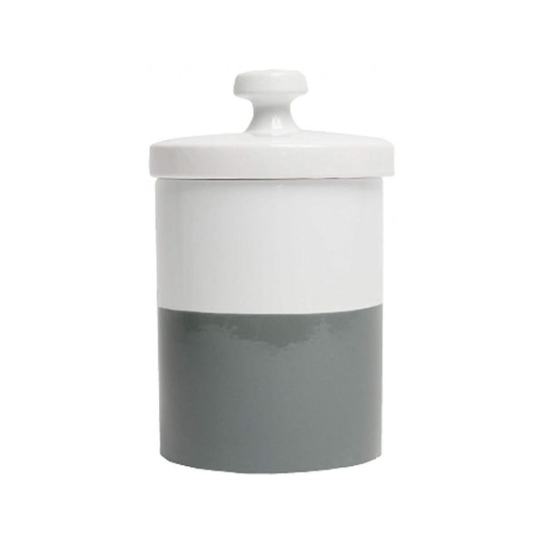 Dipper Treat Jar, Color: Light Grey