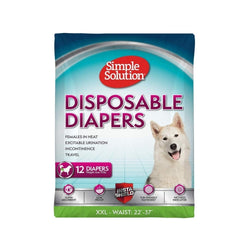Disposable Diapers - Females in Heat Size : XXL