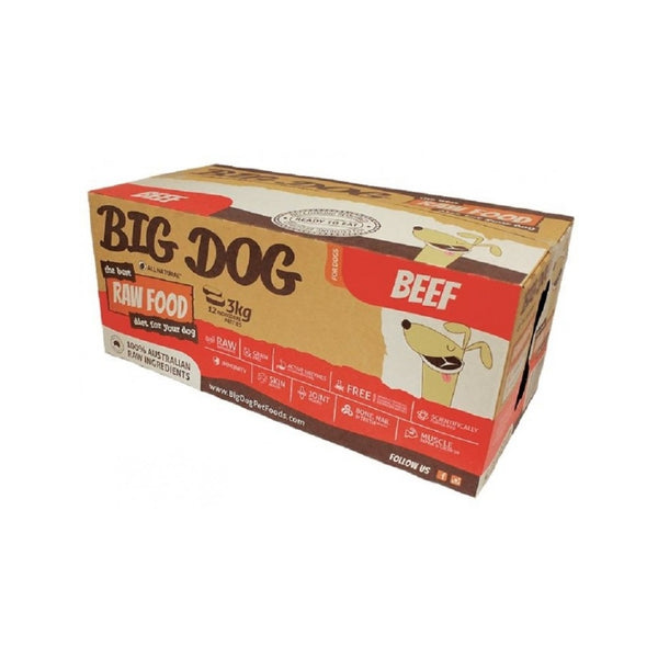 Standard Range Frozen Raw Beef Dog Food, 12x250g