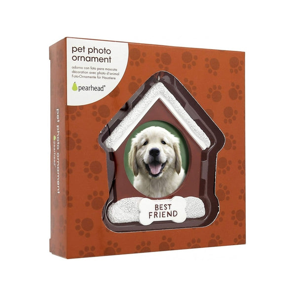 Pet Photo Ornaments - Dog House