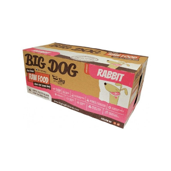 Standard Range for Dogs - Rabbit Raw Frozen, 12x250g