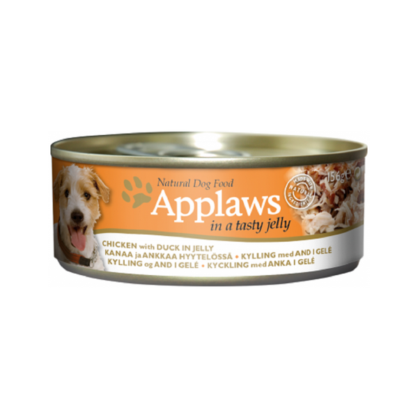 Chicken & Duck in Jelly for Dog, 156g