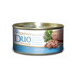 Duo Mousse Tasty Tuna Cat Can Food Weight : 70g