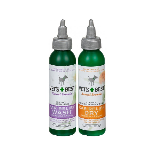 Ear Relief Wash & Dry Pack, 4oz