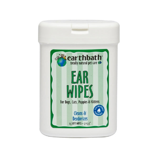 Ear Wipes for Dogs & Cats, 25 wipes