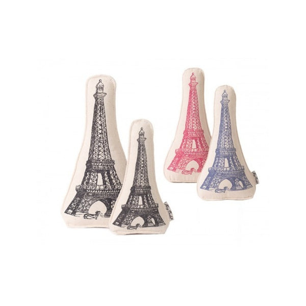 Eiffel Tower Canvas Toy, Color Red, Large