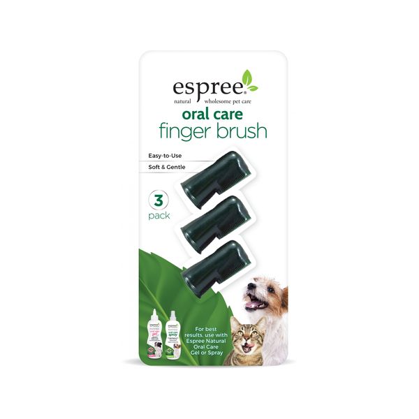 Oral Care Finger Brush, 3pk
