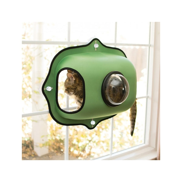 Window Bubble Pod Color: Green