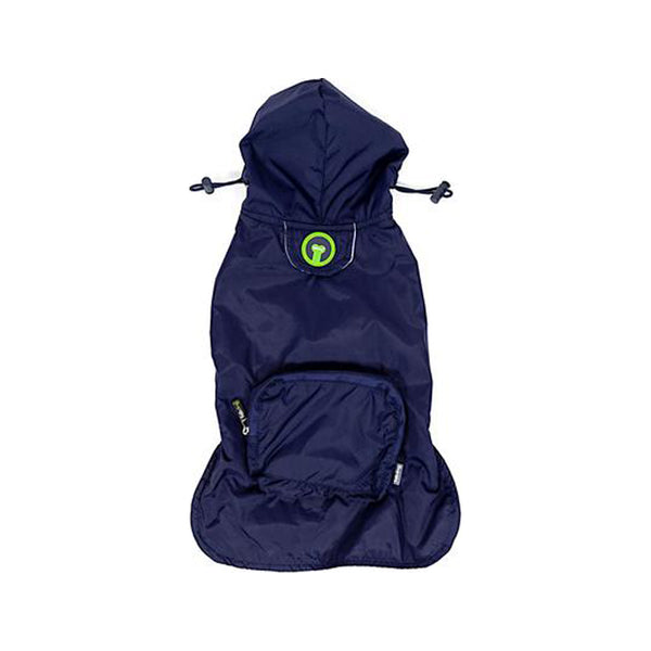 Packaway Navy Raincoat, XSmall