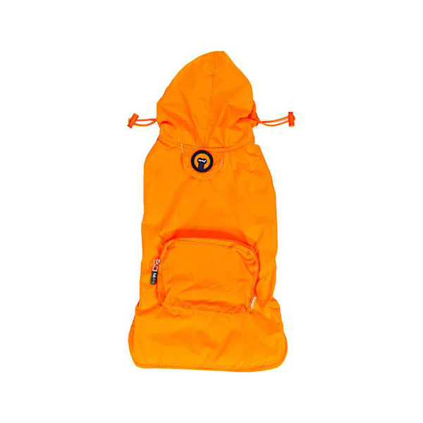 Packaway Orange Raincoat, Large