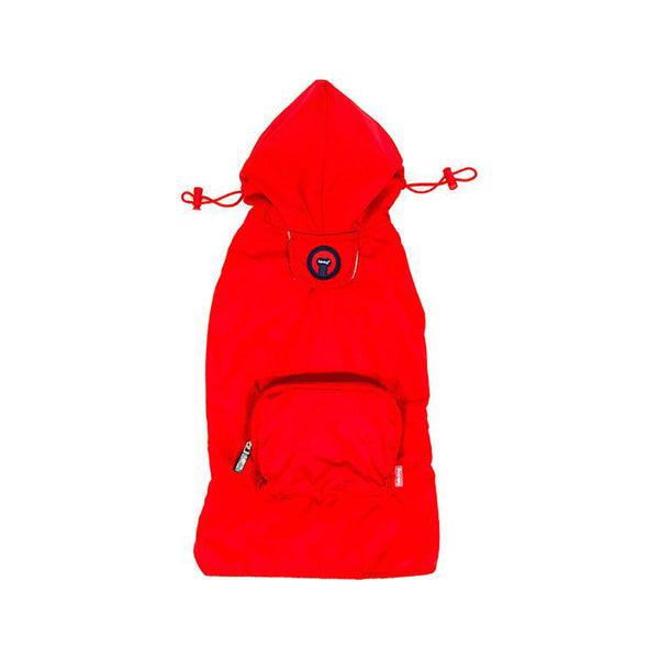 Packaway Red Raincoat, Large