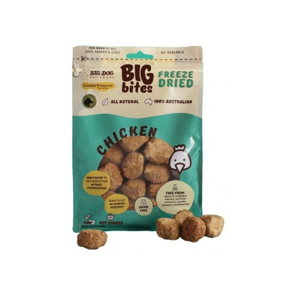 Freeze Dried Chicken Big Bites Weight : 490g
