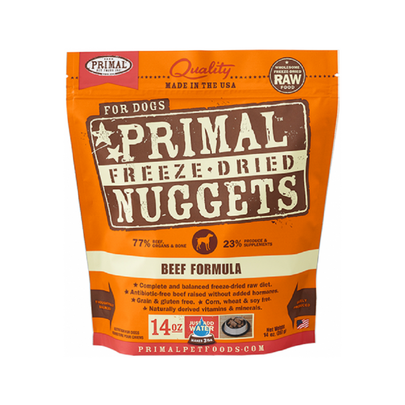 Freeze Dried Beef Nuggets, 14oz