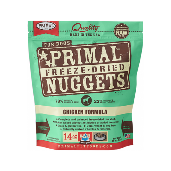 Freeze Dried Chicken Nuggets, 14oz