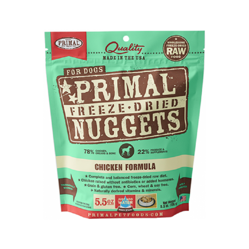 Freeze Dried Chicken Nuggets, 5.5oz