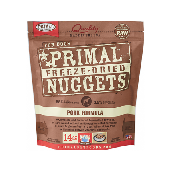 Freeze Dried Pork Nuggets Weight : 14oz