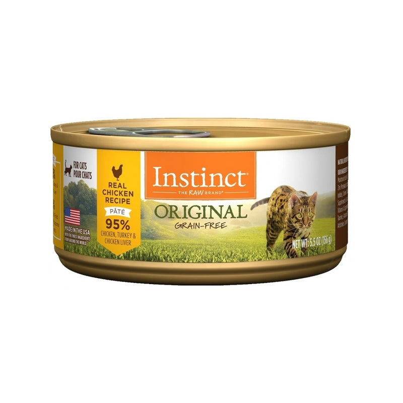 Feline Instinct Original G.F Chicken Can, 3oz
