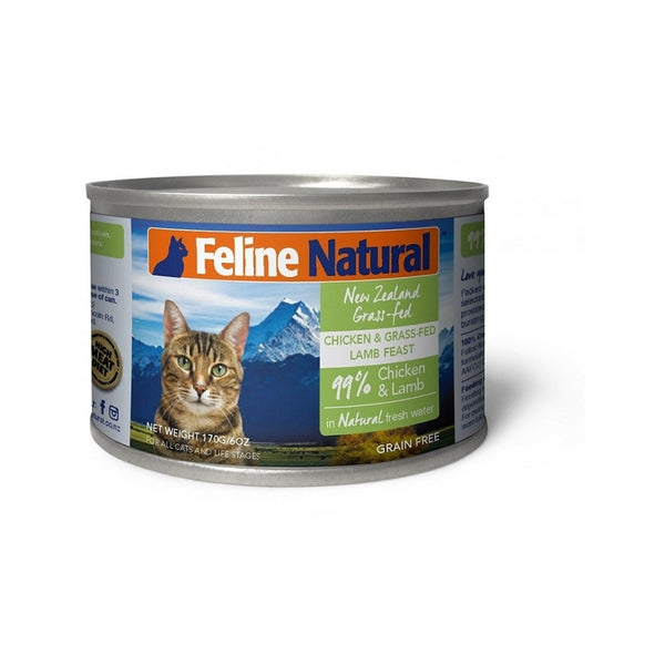 Feline Canned Chicken & Lamb, 170g