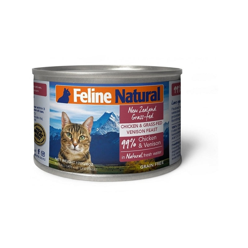 Feline Canned Chicken & Venison, 170g